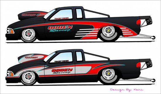 Custom Paint Jobs For Drag Race Cars By Kenis Colors